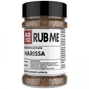 Buy Angus & Oink Harissa Seasoning at The BBQ Shop at Debden Barns. Powered with the amazing flavours of North African street food and BBQ. Spicy.
